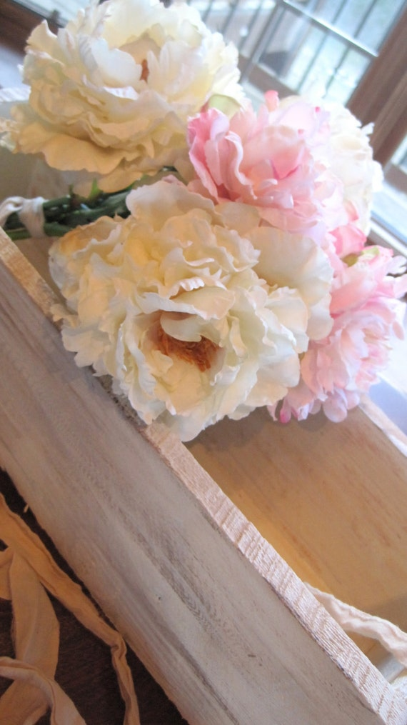 Rustic Chic Table Decor-Wooden Boxes by Burlap and Linen Co