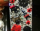 Custom Rockstar Deco iPhone 4 case