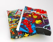 Marvel Comic Avengers Burp Cloth, Iron Man, Thor, Capt. America, Wolverine, Spider Man, Hulk