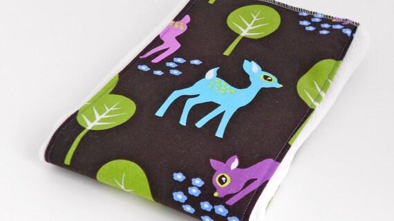 Burp Cloth, Michael Miller Pet Deer