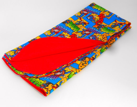 Superman DC Comics Baby Blanket, Red