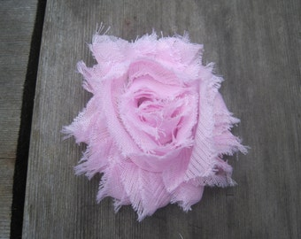 Light Pink Flower Hair Clip, Baby Hair Clip, Girls Hair Clip, Newborn Hair Clip, Infant Hair Clip