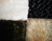Faux Fur Choices for CUSTOM HOODS