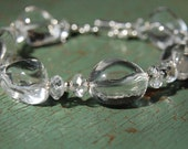 Chunky Brazilian Crystal Quartz Bracelet