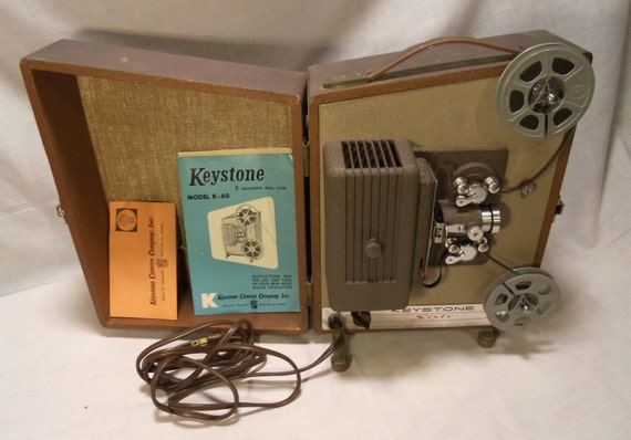 Keystone 60 8mm projector