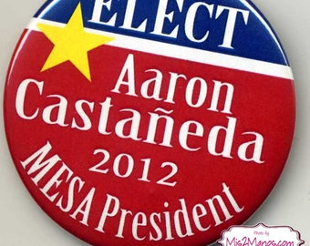 Campaign buttons High School President Buttons Personalized Buttons Custom Buttons Class President
