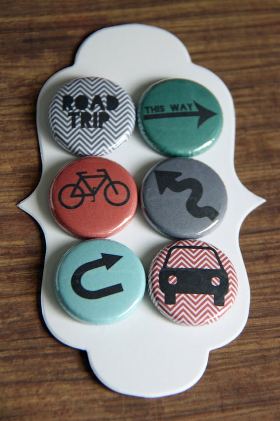 road trip flair buttons