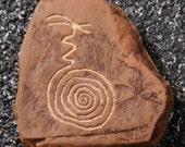 Migration Symbol Rock Art Magnet