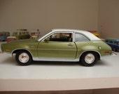 Vintage 70s Ford Pinto Car Sweeeeeet Ride Pea Green -  Kachooooow