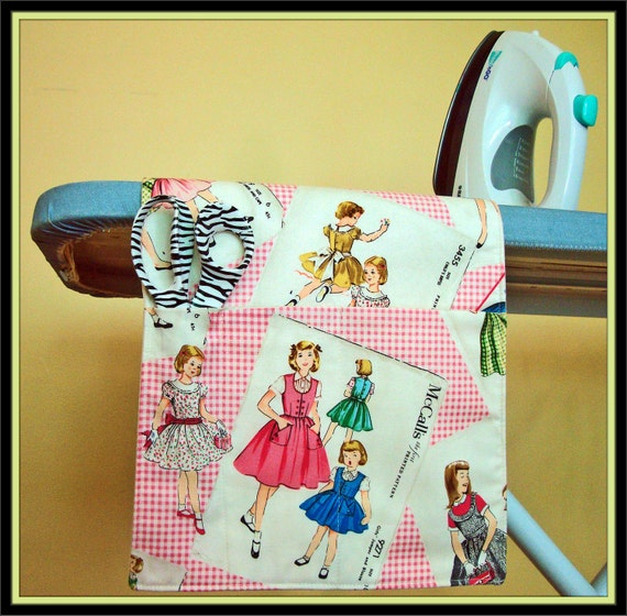 Ironing Board Organizer (Sewing Room Accessory)
