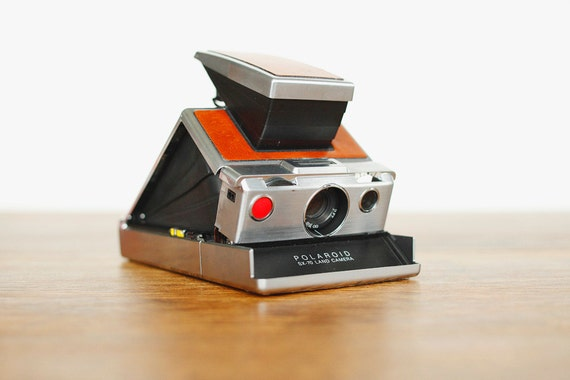 Polaroid SX-70 Land Camera with Case