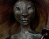 HuraKa of the Shadows--OOAK Fairy Art Doll by Whisper Weald