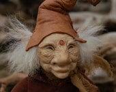 Spruce and Mulch--OOAK Fairy Art Doll by Whisper Weald
