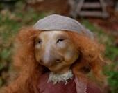 OOAK Art Doll: Edna, the Truth-Seeker