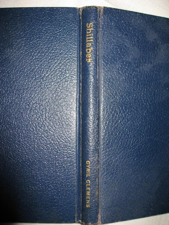 Shillaber- inscribed hardcover