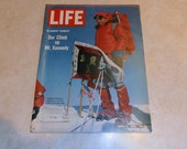 Vintage Life Magazine April 09, 1965.  With Robert Kennedy on the cover.  Also inside Saigon, Walter Mathau.