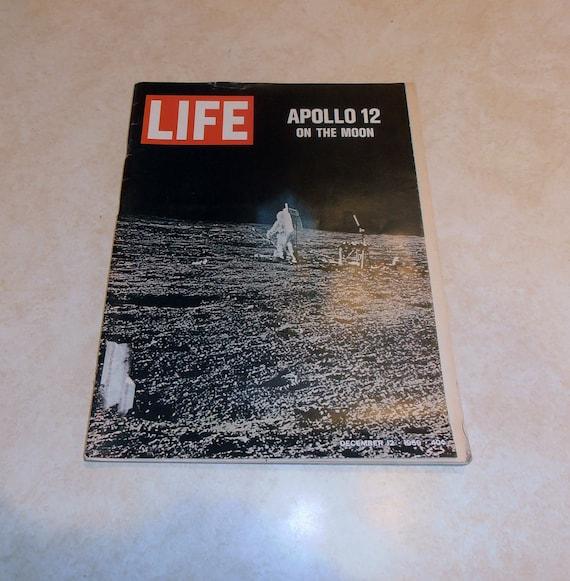 Vintage Life Magazine December 12, 1969.  With Apollo 12 on the moon.