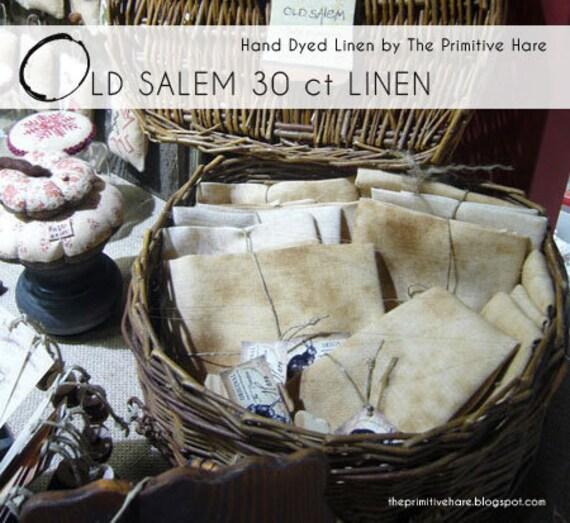 Linen: Old Salem linen standard cut