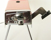 Vintage Can Opener with Knife Sharpener, Electric Maid of Honor, Mid century, Pink, Automatic, circa 1950