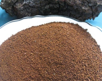 Ten Pounds Chaga Mushroom Powder - 100% Pure Raw Wildcrafted Chaga Mushroom Powder - Michigan Grown and Harvested - Non GMO