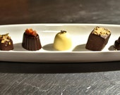 6 count assorted Truffle Box - Organic Chocolate