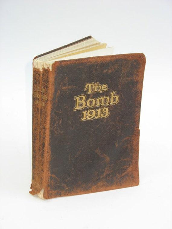 Iowa State University Year Book -- 1913 -- THE BOMB