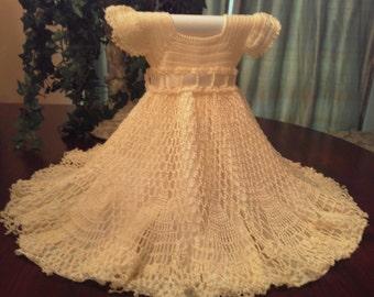 sz 3 twirly crocheted dress