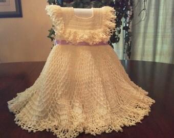 twirly dress with ruffle. sz 2