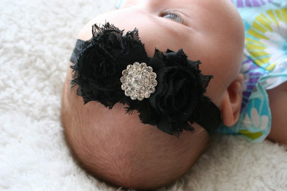 15% OFF, Baby Headbands, Black Headband, Child Headband, Headband, Baby Bow Headband, Baby Bow, Flower Headband, Baby Headband