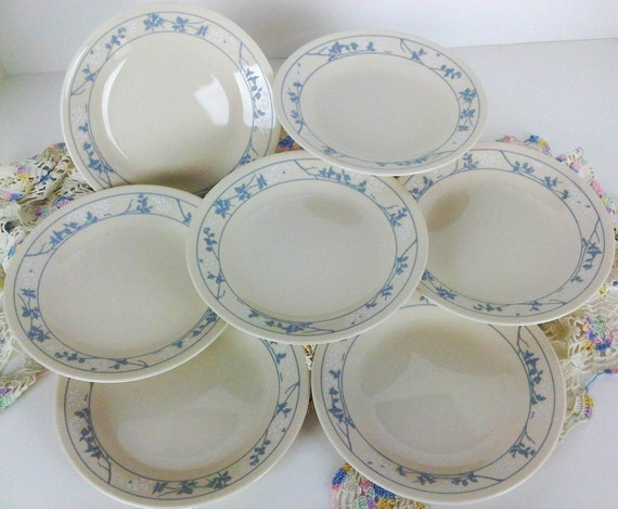 Corelle First of Spring Bread and Butter Dessert Salad Plates lot of 7