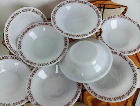 Anchor Hocking Anchorware Filigree Bowls set of 8