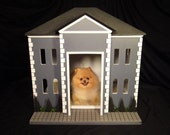 Indoor Dog House or Unique Crate Cover - The Federal by Simba's Castles