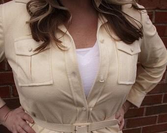 Suede Jacket 1980s - Size Large/XL