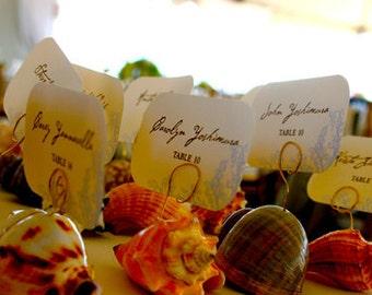Beach Starfish Seating Cards: Get Started Deposit