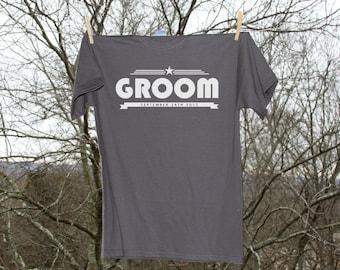 Groom Personalized Wedding Date Shirt