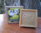 All Natural Organic Shea Butter and Green Tea Soap