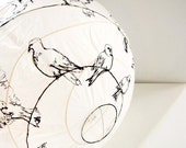 Drawing Lampshades (pigeons or houses)