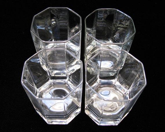 vintage luminarc octime cocktail glasses by verrerie. Black Bedroom Furniture Sets. Home Design Ideas