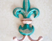 SALE-Painted Iron Jewelry Hook