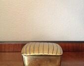ben seibel mid century  brass box