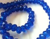 Crystal Rondelle Beads, DESTASH, Jewelry Supplies, Bead Supplies