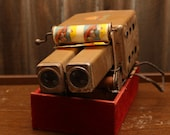 1930s Antique Uncle Sam's Movie Projector w/ 10 Films