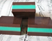 Thin Mints,  Mint Chocolate Soap
