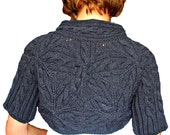 Women Hand Knitted Cotton Jacket/Cardigan. Currently 20% Off