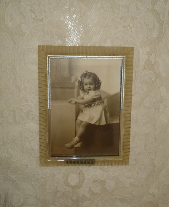 Vintage Photograph and Picture Frame 1930s