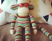 Sock Monkey (striped)