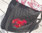 Red Lobster Reversible Tote