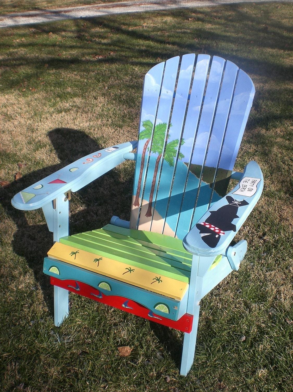 Adirondack chair painting - Like This Item
