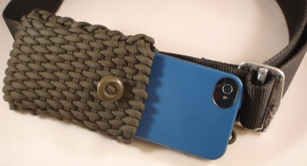 550 paracord smart phone case by paracordguru on etsy