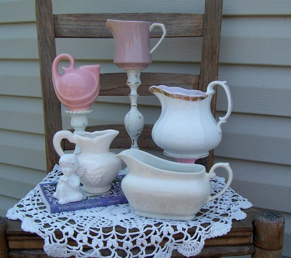 Vintage Creamers & Sauce Boat Collection / Vintage Kitchen / Instant Collection